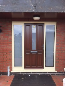 Coloured uPVC Doors