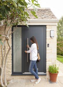 Entrance Aluminium Doors