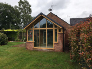 Oak uPVC Garden Room