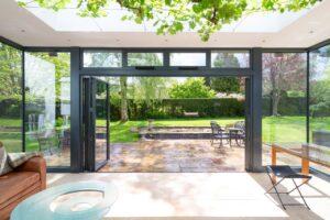 ultra-slim bi-fold aluminium doors