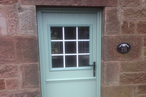 Coloured uPVC Doors & Coloured uPVC Doors | Strata Group Stoke-on-Trent Staffordshire